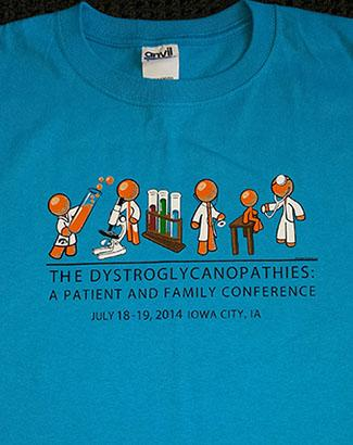 2014 Wellstone Dystrolgycanopathies Conference Shirt